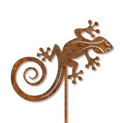 Edelrost Gecko Jimini mit Stecker