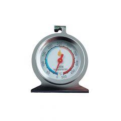 Edelstahl Thermometer bis 300 °C mit Standfuss
