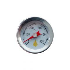 Edelstahl Thermometer Mini bis 500 °C mit Einschraubgewinde