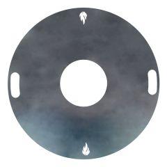 Feuerplatte Grillplatte Grillring für Feuertonne Ø 60 cm » Schamotte-Shop.de