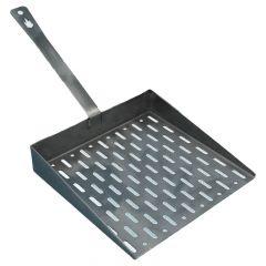 Grillplatte mit Griff 24,5 x 25,5 cm » rostfrei