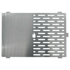 Grillplatte Plancha Edelstahl 30,4 x 21,0 cm passend für Skotti**