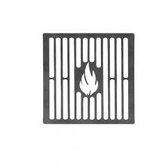 Grillrost 10 cm auf Maß aus Stahl Brataufsatz für BBQ Gasgrill Kohlegrill Kugelgrill