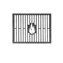 Grillrost 30 cm auf Maß aus Stahl Brataufsatz für BBQ Gasgrill Kohlegrill Kugelgrill