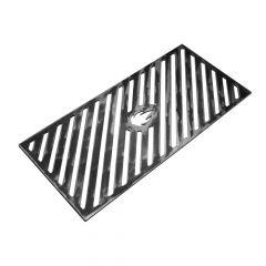 Grillrost 44,0 x 20,3 cm passend für Outdoorchef** aus Stahl für BBQ und Grill