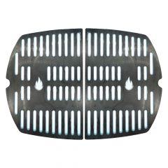 Grillrost 54,6 x 39,0 cm 2 Stück passend für Weber**