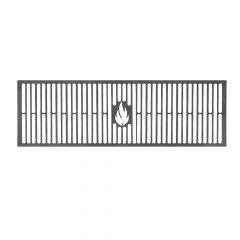 Grillrost 60 cm auf Maß aus Stahl Brataufsatz für BBQ Gasgrill Kohlegrill Kugelgrill