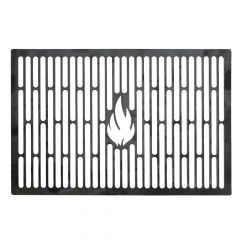 Grillrost 44,5 x 25,9 cm passend für Weber** aus Stahl für BBQ und Grill