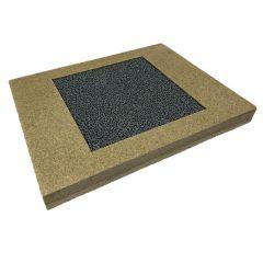 Kaminfilter-Nachrüstungs-Set 405x345x40mm | Flamado |Schamotte-Shop.de
