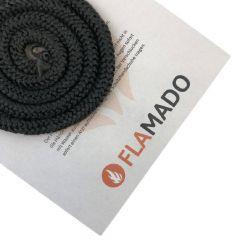 Ofendichtung | Dichtschnur für Glasscheibe | 8mm x 1,5m | passend für Techfire Tambora 1** | schamotte-shop.de
