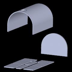 Dämmung | Isolierung | für Pizzaofen Bausatz Toskana Basic XXL & Premium XXL | Schamotte-Shop.de
