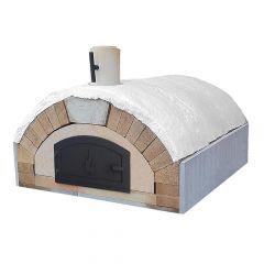 Pizzaofen Bausatz - Merano Premium Large Holzbackofen Schamotte-Shop.de