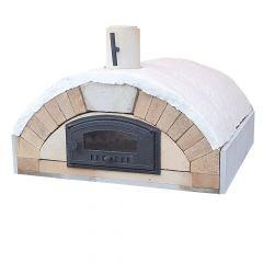 Pizzaofen Bausatz Merano Premium XXL | Liveansicht| PUR Schamotte | Schamotte-Shop.de