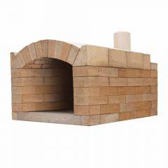 Pizzaofen Bausatz Milano Basic XXL| Gartenbackofen | PUR Schamotte | Schamotte-Shop.de