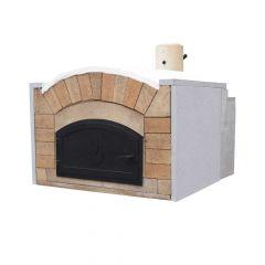 Pizzaofen Bausatz Milano Premium| Gartenbackofen | PUR Schamotte | Schamotte-Shop.de