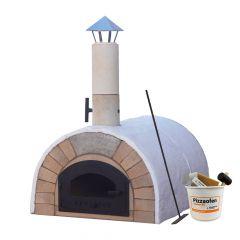 Pizzaofen Bausatz Toskana Premium 2.0| Innenansicht | PUR Schamotte | Schamotte-Shop.de
