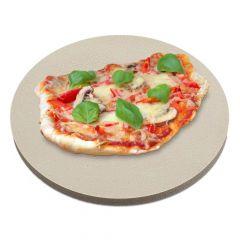 Pizzastein rund Ø 39 x 2 cm| Keramik | lebensmittelecht | PUR Schamotte | Schamotte-Shop.de