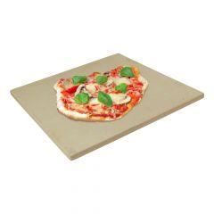 Pizzastein 40 x 30 x 2 cm | Keramik | lebensmittelecht | PUR Schamotte | Schamotte-Shop.de