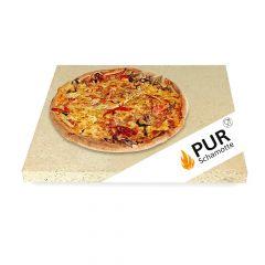 Pizzastein für Minibackofen in vielen verschiednen Größen | PUR Schamotte | Schamotte-Shop.de