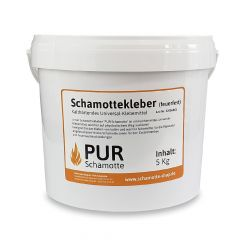 Schamottekleber 5kg | PUR Schamotte | Schamotte-Shop.de