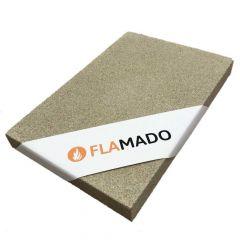Vermiculite Platte 500x500x10mm 600KG/m³ Flamado
