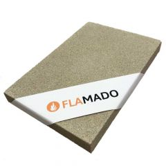 Vermiculite Platte 800x600x10mm 600KG/m³ Flamado