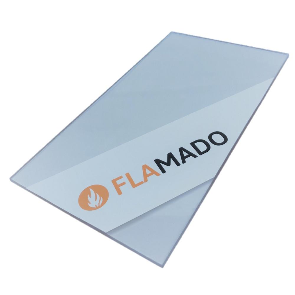 Kaminscheibe FLAMADO für Kamin und Ofen