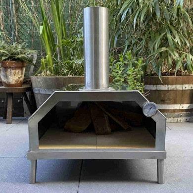 Mobile Pizzaöfen aus Edelstahl