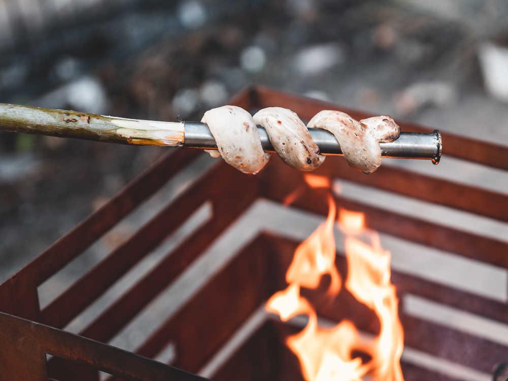 Stockbrot-Rezepte für die Feuerschale