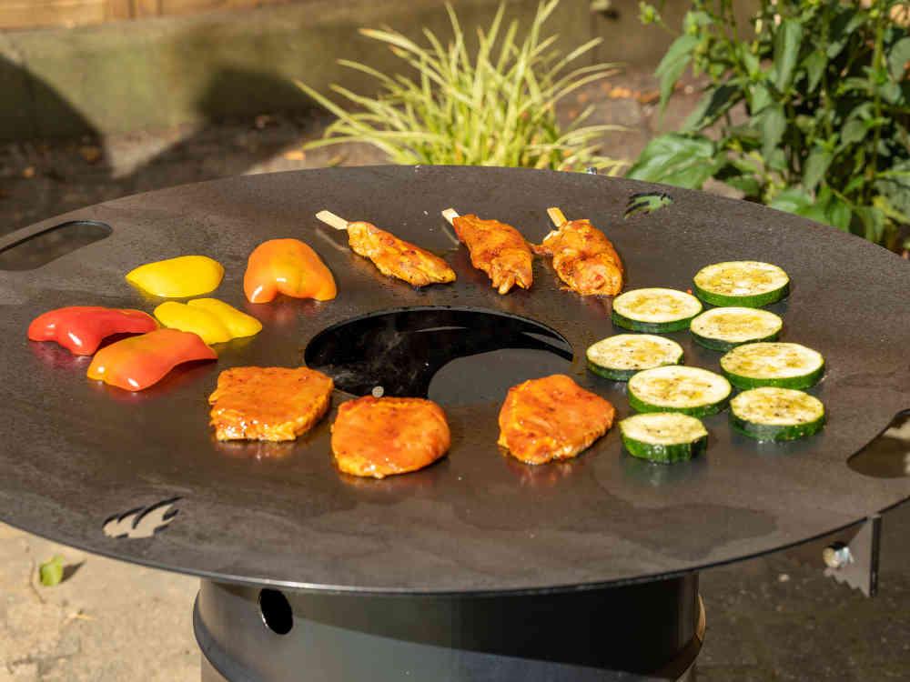 Grillring für Feuertonnen und Kugelgrills