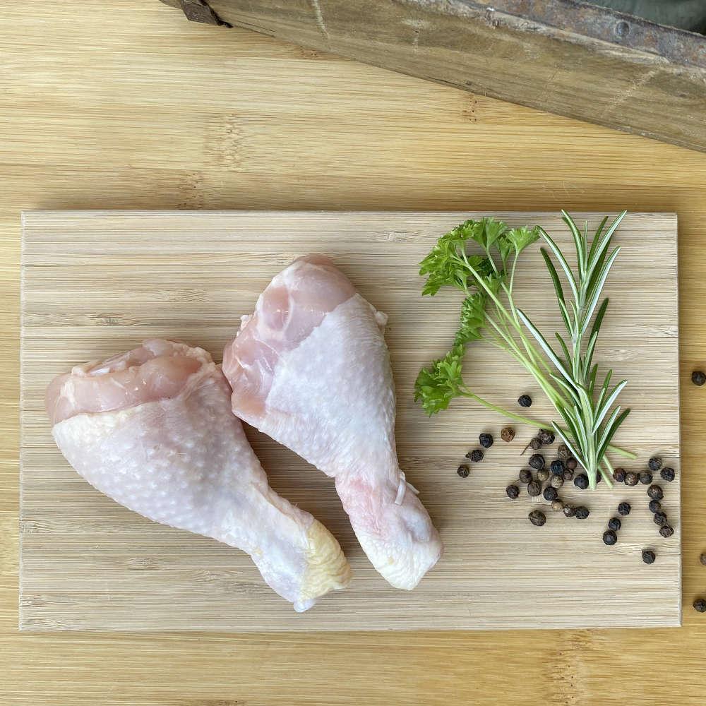 Zutaten für marinierte Hähnchenschenkel