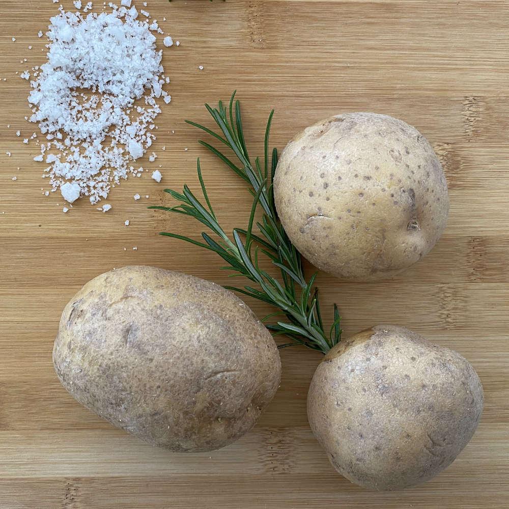 Zutaten für Grillkartoffeln