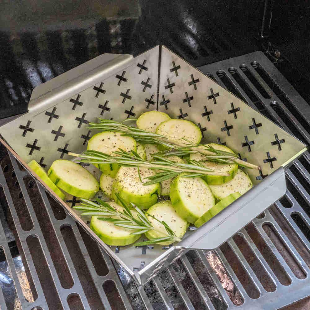 Grillzubehör - Grillkorb für Grills