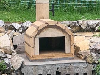 Kundenprojekte für Pizzaofen Genua