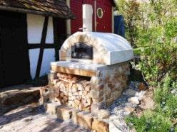 Kundenprojekte: Pizzaöfen im eigenen Garten