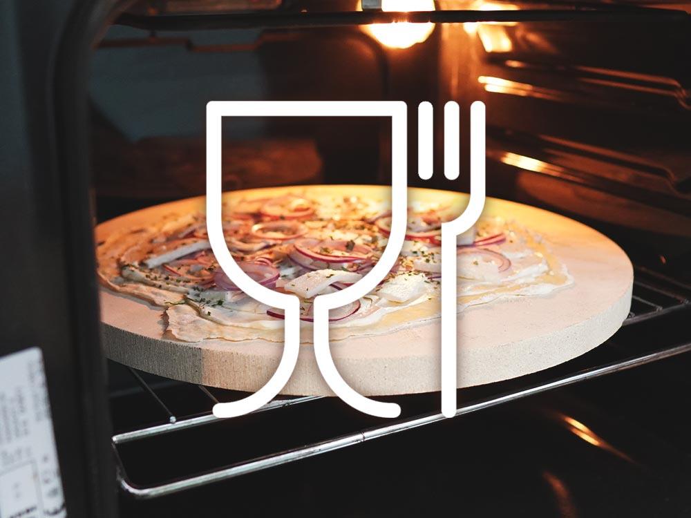 Was bedeutet lebensmittelecht? - Lebensmittelechter Pizzastein