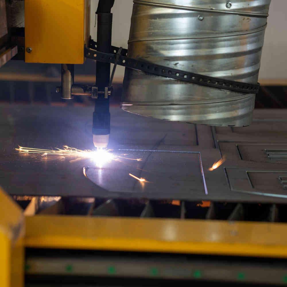 Produktion in Deutschland - Plasmaschneider