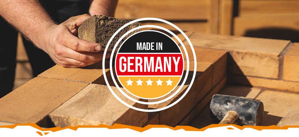 Produkte hergestellt in Deutschland - Schamotte-Shop.de