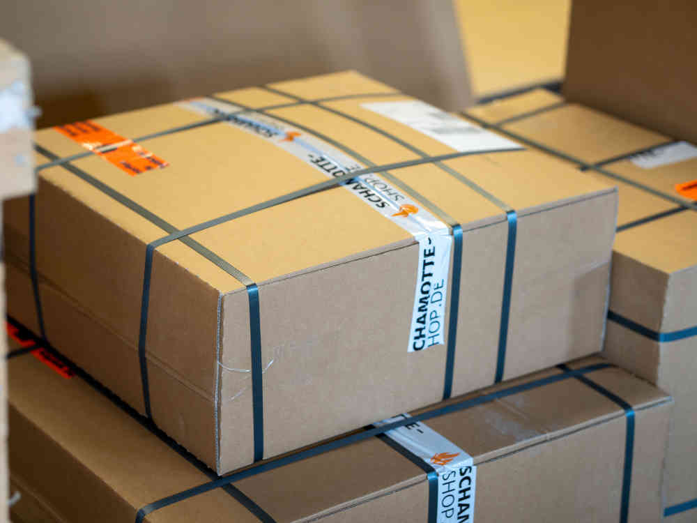 Logistik und Versand bei Schamotte-Shop.de