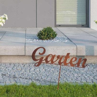 Edelrost Deko für Garten & Terrasse