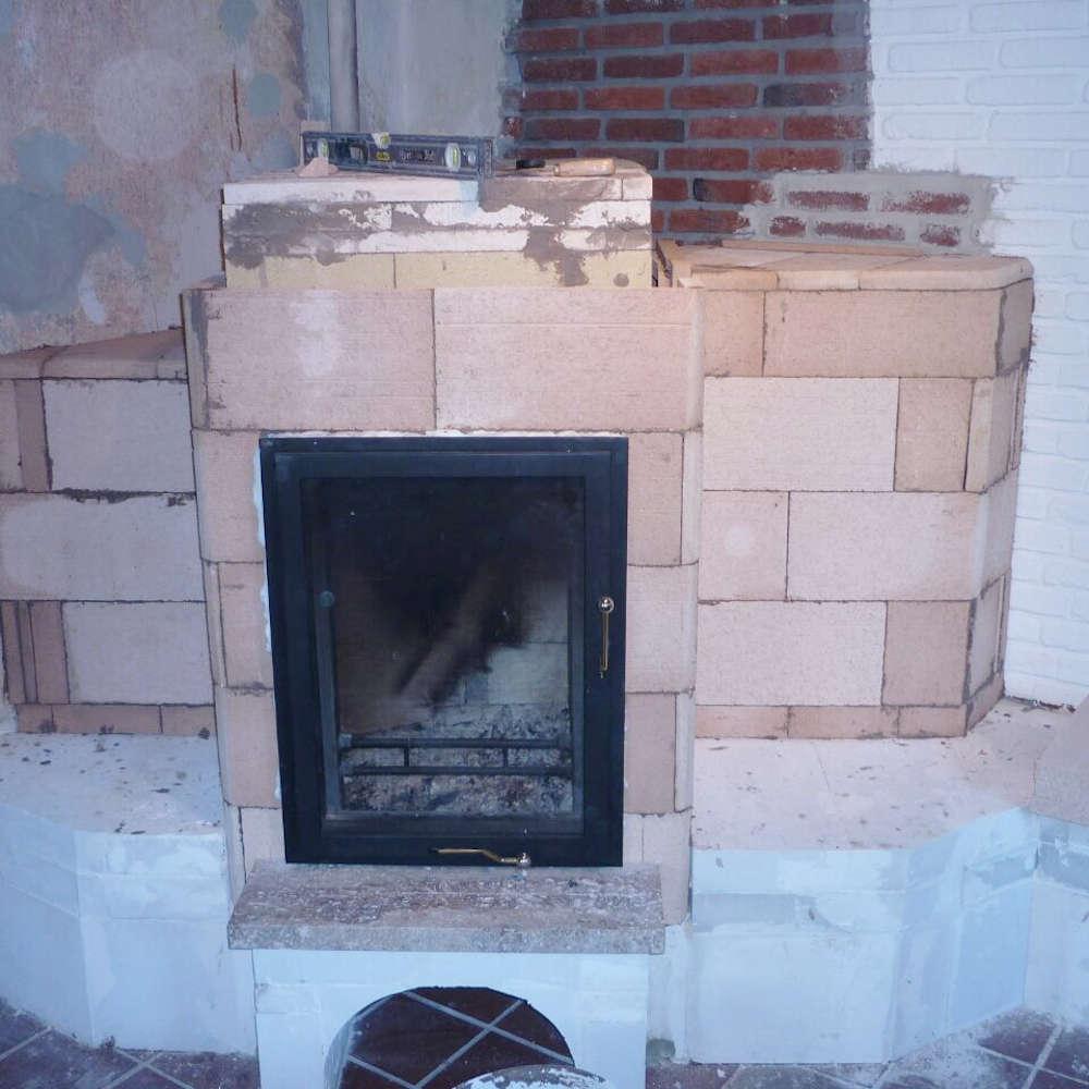 Ofenbau-Service - Beispiele für Ofenbau