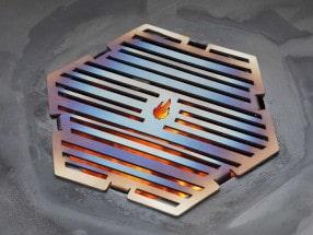 Grillrost für die Feuerplatte