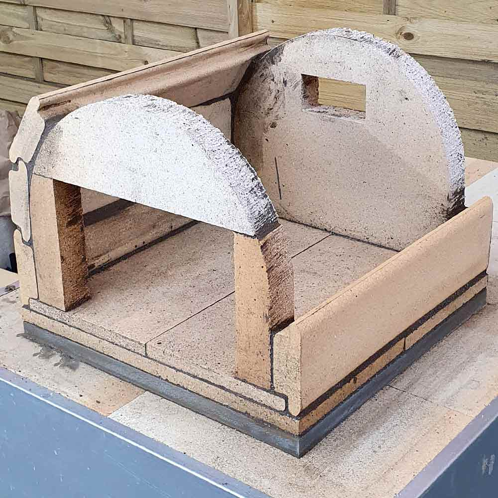 Pizzaofen Bausatz Genau Aufbau