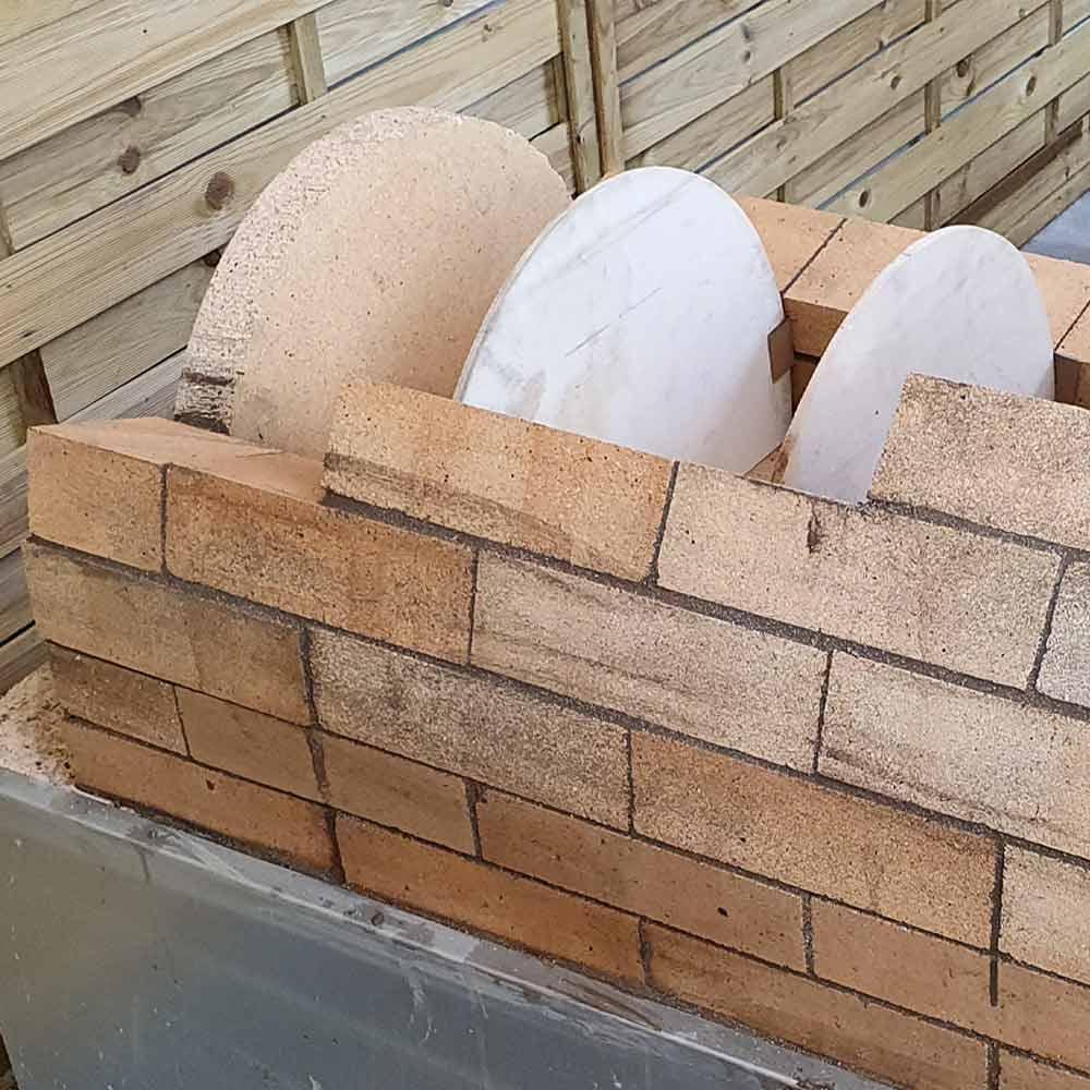 Pizzaofen Bausatz Toskana Gewölbe mauern