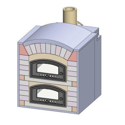 Pizzaofen Bausatz Rom