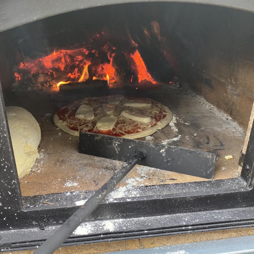 Schürhaken für Pizzaofen