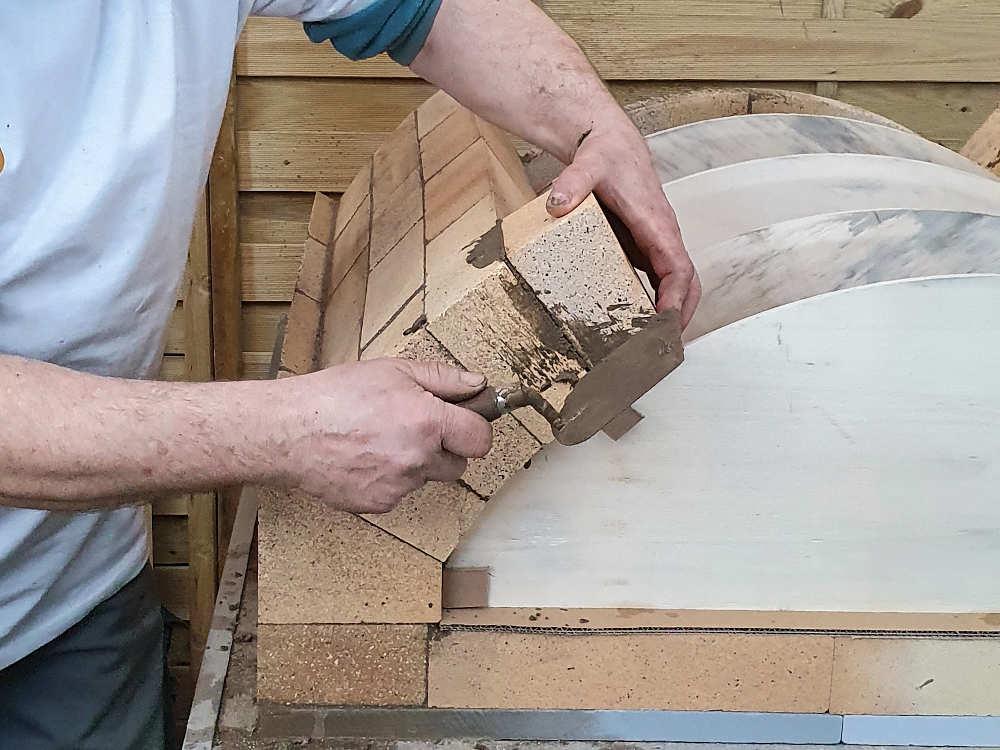Bauanleitung: Flachgewölbe bauen für Steinöfen