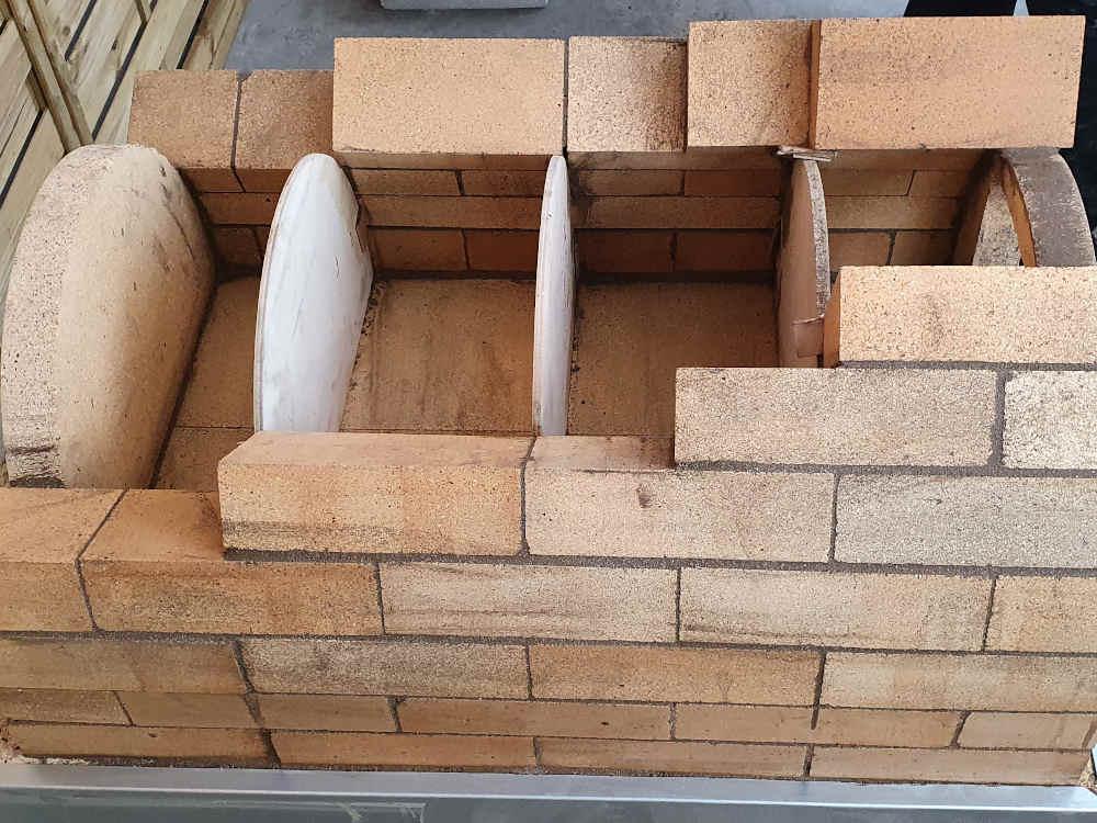 Bauanleitung: Rundbogen bauen für Steinöfen