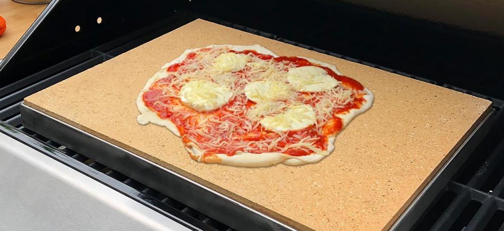 Pizzastein / Schamotteplatte reinigen
