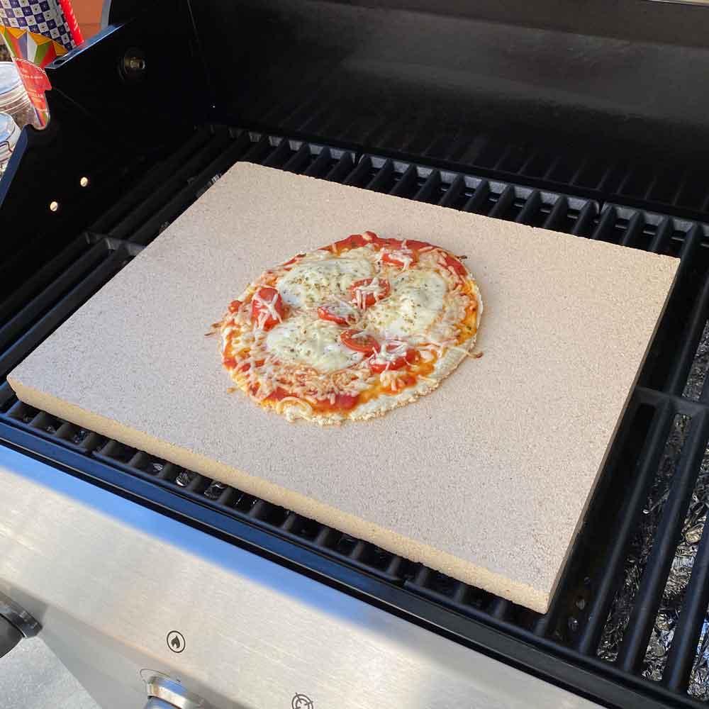 Pizzastein Schamotte für den Grill